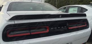 2015 Up Dodge Challenger Spoiler Rear Surface Decal Store Rider Graphix