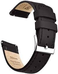 ritche quick release leather watch band