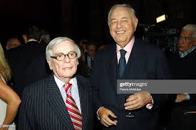 Dominick Dunne and A. Alfred Taubman attend Celebration of the ...