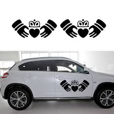 Claddagh Vinyl Decal Car Window Bumper Sticker Friendship Irish Ireland