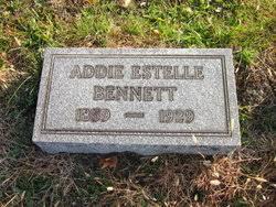 Addie Estelle Bennett (1859-1929) - Find A Grave Memorial