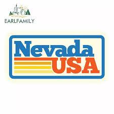 Earlfamily 13cm X 6 5cm For Nevada Usa Anime Wrap Sticker Vinyl Decal Sticker Truck Pinup Digitally Printed Personality Sticker Car Stickers Aliexpress