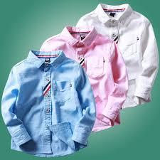 tops 2018 autumn boys shirt long sleeve