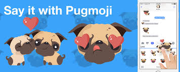 Pugmoji Emojis Stickers For Pug Lovers Home Facebook