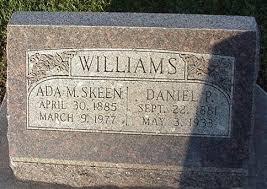 Ada Myrtle Williams (Skeen) (1885 - 1977) - Genealogy