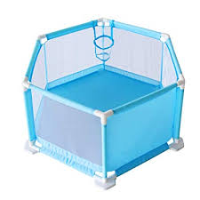 Fajiabao Child Safety Fence Play Yard Playpen With Breathable Mesh Portable Indoors Outdoors And Parks For Babies Newborn Infant Toddler Kids Blue Buy Products Online With Ubuy Thailand In Affordable Prices