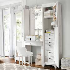 where to white makeup vanity table