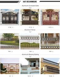 aluminum fence garden privacy panels