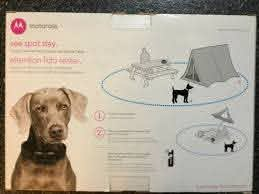 Pet Supplies Electronic Fences Motorola Travelfence50 Wireless Dog Fence Remote Training Collar Portable Talk