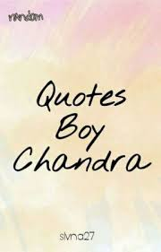 quotes boy chandra senja hujan dan cerita yang telah usai wattpad