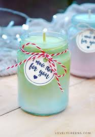 natural ombre candles recipe