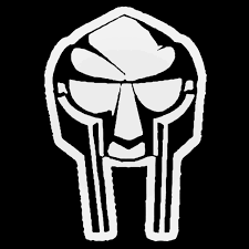 Mf Doom Mask V2 Decal Sticker