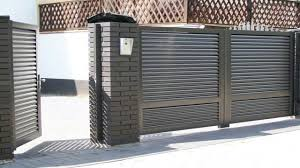 Metal Fence Design Modern Fence Designs