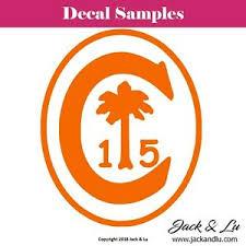 Clemson University Tigers Alumni Ring Seal Vinyl Adhesive Die Cut Decal Ebay