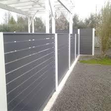 China Pre Fabricated Aluminum Fence Aluminium Slat Fence China Aluminum Fence China Fencing Garden Fence