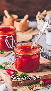 Thai Sweet Chili Sauce in 2020 | Healthy sweet snacks, Sweet chili, Healthy  recipes easy snacks