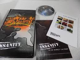 insanity fitness dvd and nutrition