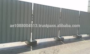Temporary Corrugated Fencing Panels Construction Site Outer Boundary Fencing 971 56 5478106 Villa Temporary Fencing Dubai Buy Temporary Corrugated Fencing Panels Construction Site Outer Boundary Fencing Villa