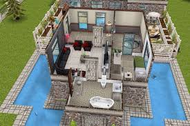 sims freeplay second floor in