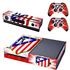 Atletico Madrid Xbox One Skin For Console And Controllers Awesome Products Selected By Anna Churchill Xbox One Skin Xbox One Console Xbox One