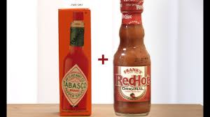 frank s redhot and tabasco sauces you