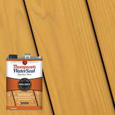 Thompson S Waterseal Signature Series Pre Tinted Honey Gold Semi Transparent Exterior Stain And Sealer Gallon In The Exterior Stains Department At Lowes Com