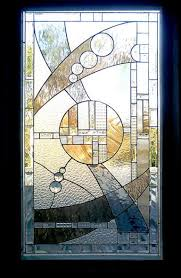 art deco stained glass panels version 4