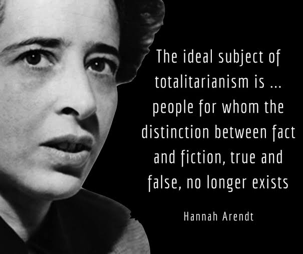 Image result for Hannah Arendt – The Banality of Evil""