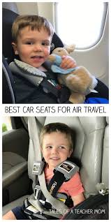 best car seats for air travel