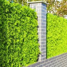 Outdoor Artificial Boxwood Privcy Hedges Plants 10x10 Inches Uv Proof Plastic Green Faux Leaf Fence Landscaping Decortaions Artificial Plants Aliexpress