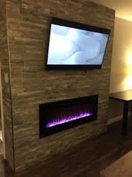 electric fireplace heater king suite