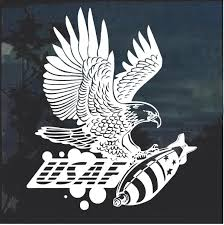 Usaf Air Force Eagle And Bomb Decal Sticker Custom Sticker Shop