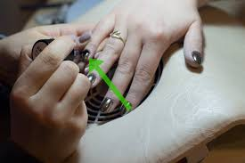 how to use mirror powder on nails 14