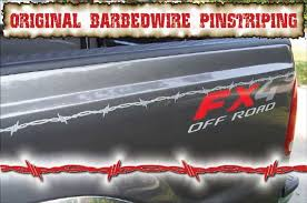 Barb Wire Pinstriping For Trucks Original Barbedwire Pinstriping Pinstriping Pinstriping Kit Automotive