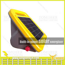 Panel Bulit In Solar Livestock Electric Fence Energiser For Farm China Suppliers 1527576