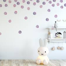 Urban Walls Watercolor Dots Wall Decal Reviews Wayfair