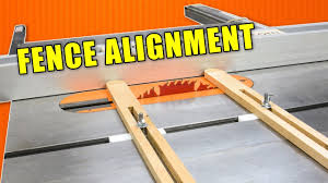 Table Saw Jigs To Align A Crappy Table Saw Fence Table Saw Fence Alignment Youtube