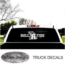 Alabama Roll Tide Car Or Truck Decal Large To Fit Suburban Or Truck Window Ebay