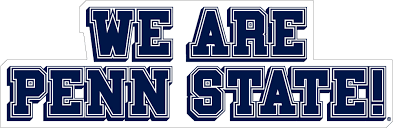 10 We Are Penn State Vinyl Decal Wesellspirit Com