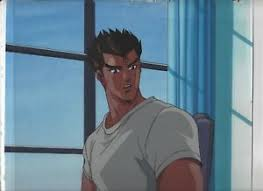 street fighter ii v anime cel ryu w