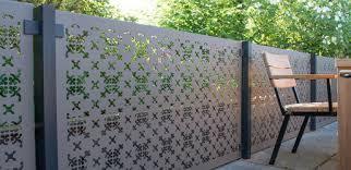 Decorative Garden Screens Powder Coated Aluminium S3i Group