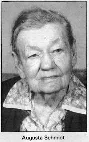 Schmidt, Augusta (1894-1991) - Biograph