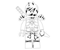 Ninjago Kai Coloring Pages at GetDrawings