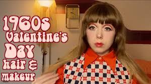 1960s inspired valentine s makeup