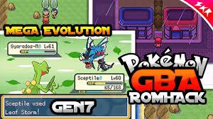 Pokemon GBA Rom Hack With Mega Evolution, GEN7 & 3 Regions (2018) - YouTube
