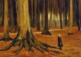 Resultado de imagen de bosque de vangogh