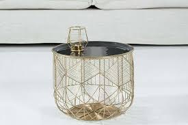 mid century modern handmade gold deco