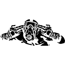 Psycho Borderlands Decal Sticker Psycho Borderlands Decal Thriftysigns