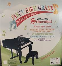 30 key fancy baby grand toy piano