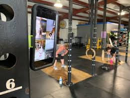 crossfit gym offers virtual cles